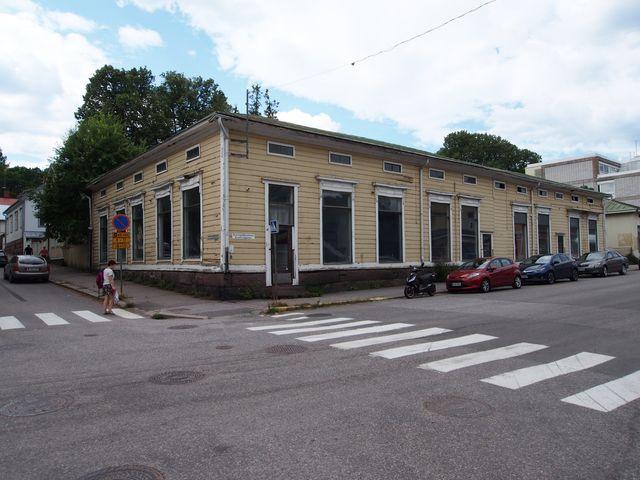 Loviisa, keskusta, Kuningattarenkatu 14 D ja F D JA F