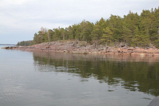 Porvoo, Svartbäck, Kalvön