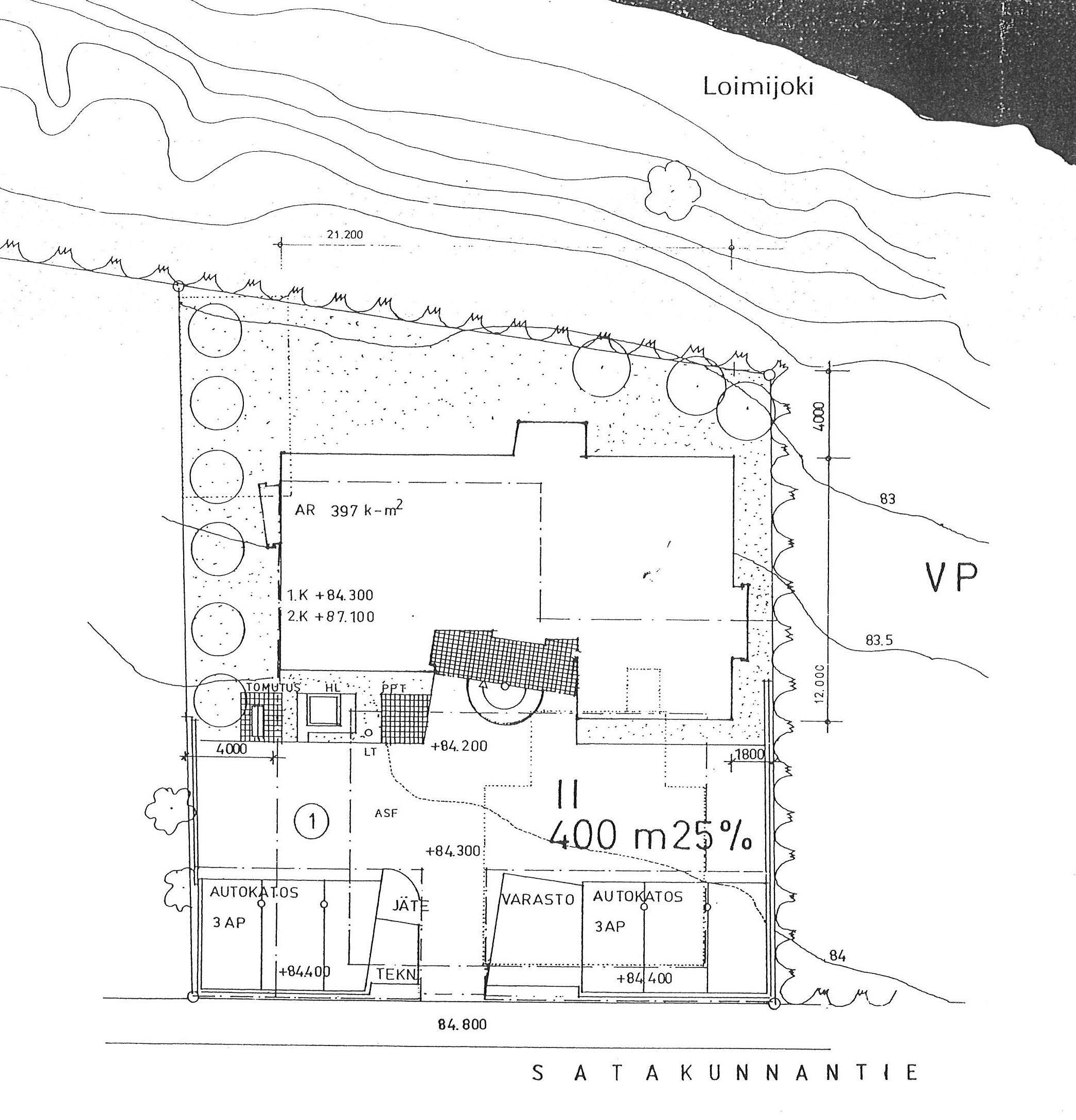 Satakunnantie 47 as., Loimaa