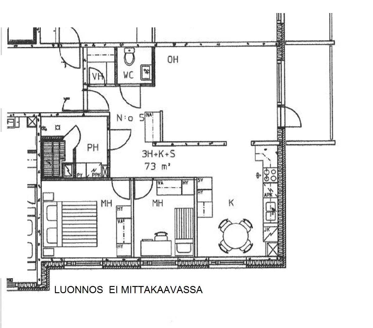 Satakunnantie 34 as., Loimaa
