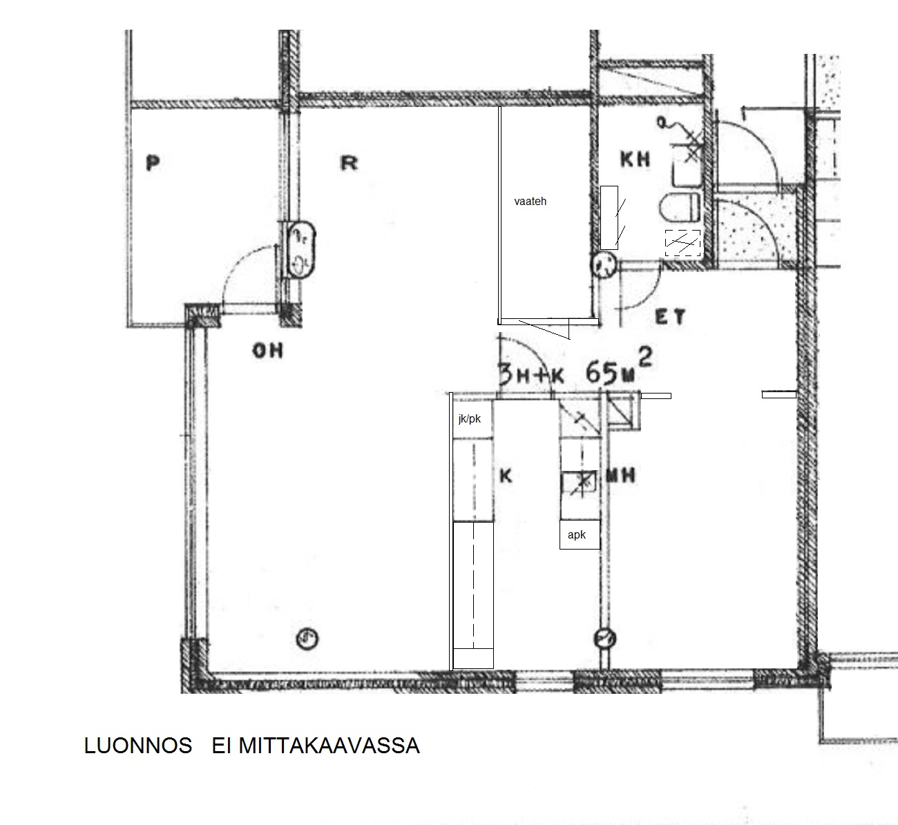 Vesikoskenkatu 13 as., Loimaa