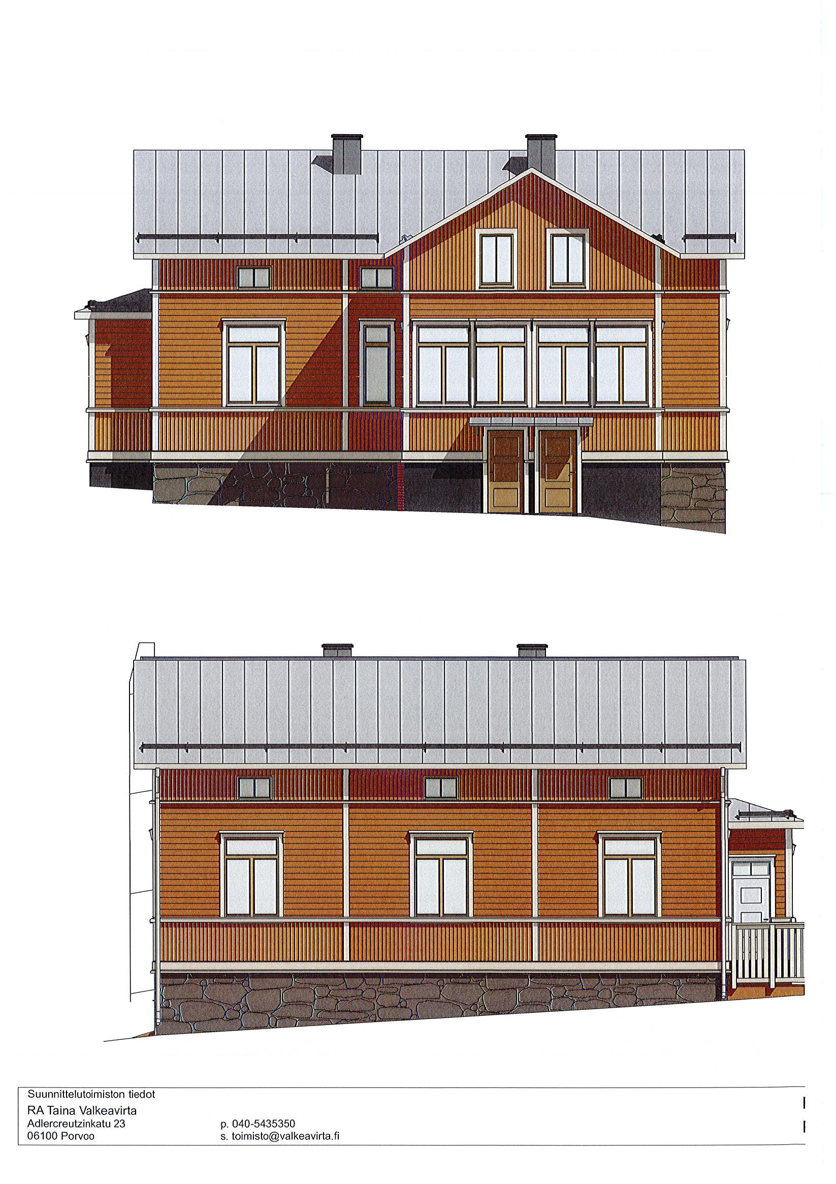 Porvoo, Keskusta, Linnankoskenkatu 44 C2 2