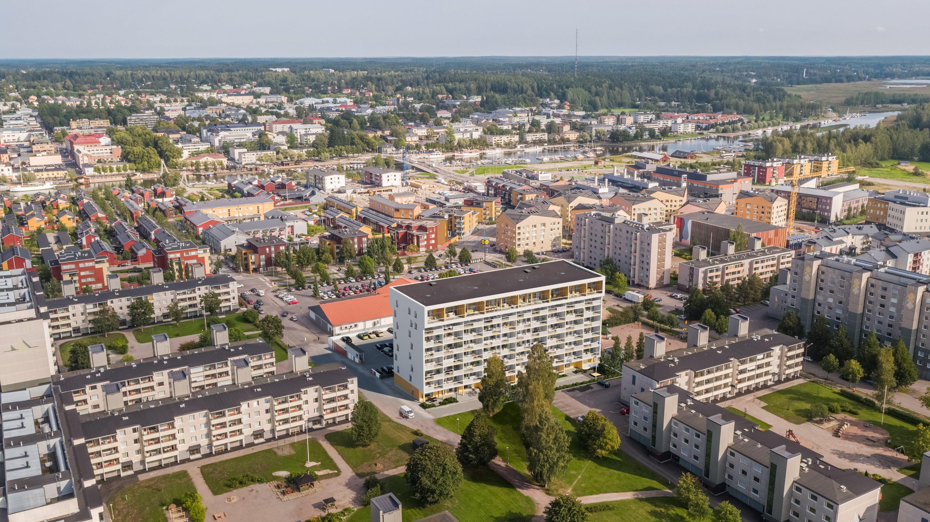 Porvoo, Länsiranta, Porvoonportti, Maistraatinkatu 6 B 57 B57