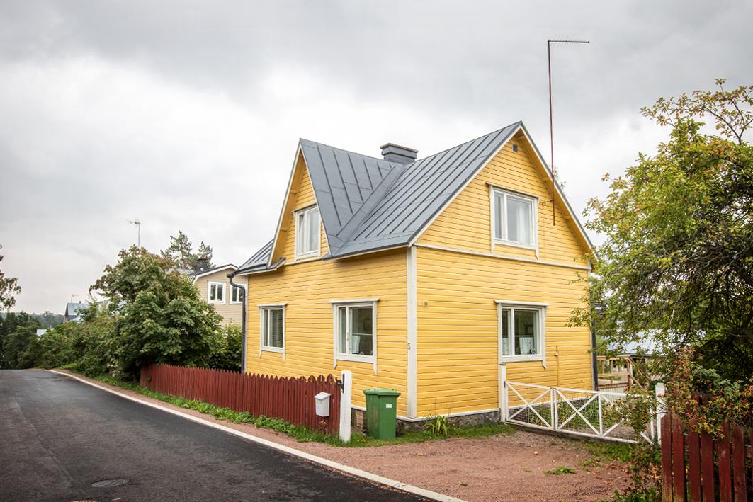 Porvoo, Myllymäki, Ruutikellarinkatu 5