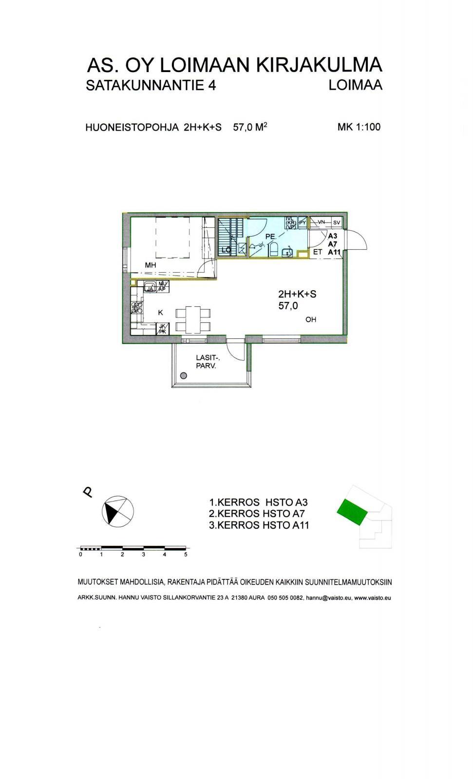 Satakunnantie 4 A7, Loimaa