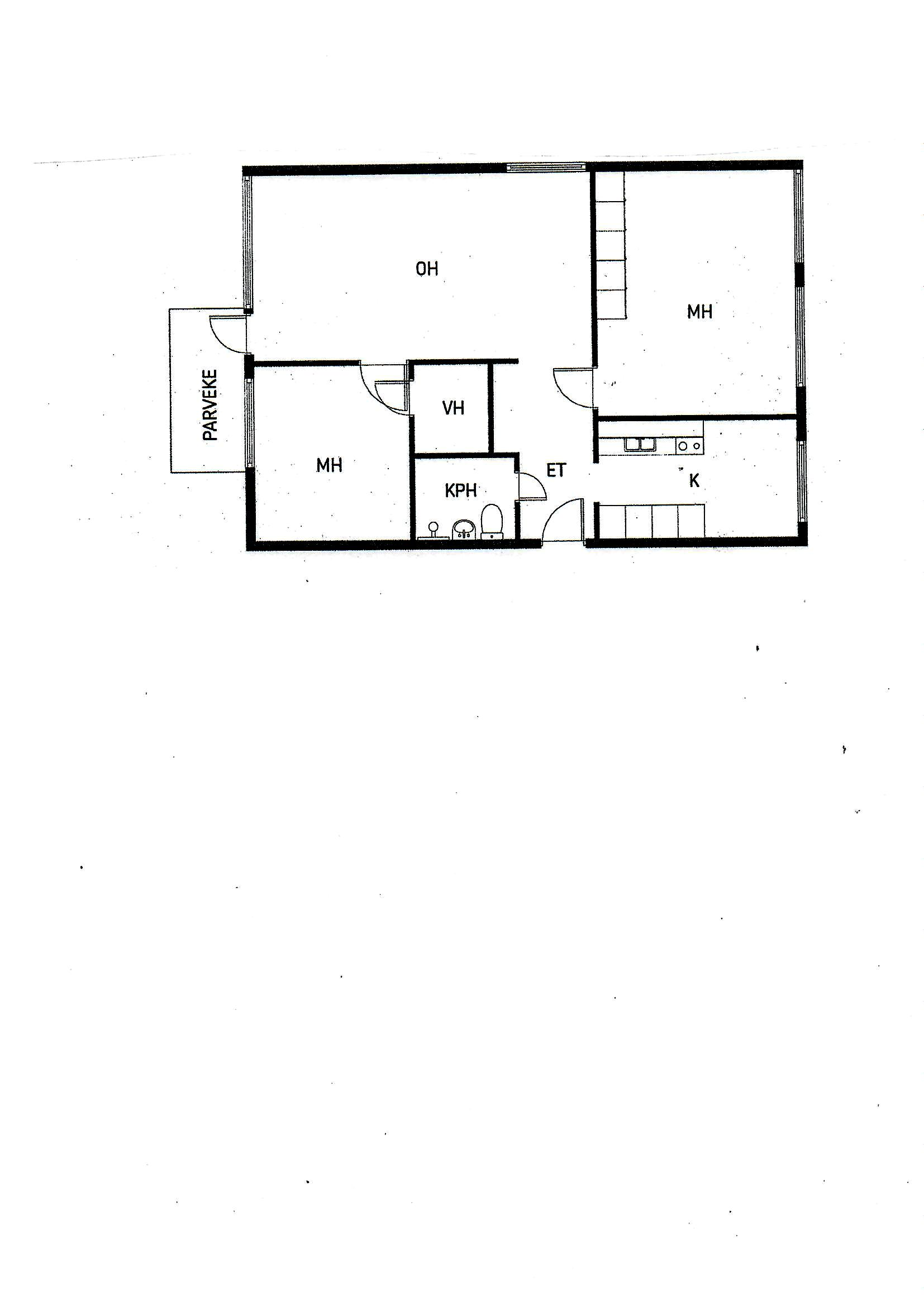 Waurionkatu 6 B11, Loimaa